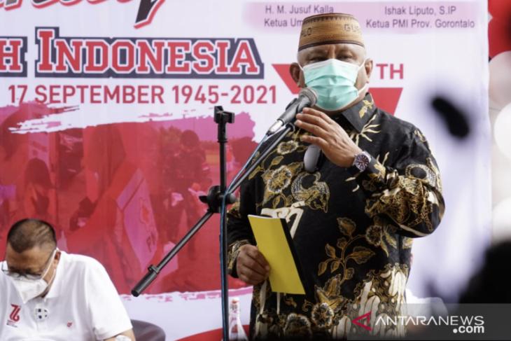 Gubernur Gorontalo gagas ASN Pemprov wajib donor darah