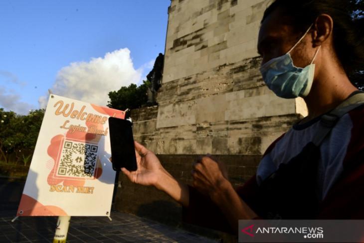 Pengelola Pantai Legian-Bali luncurkan QR Code bagi wisatawan