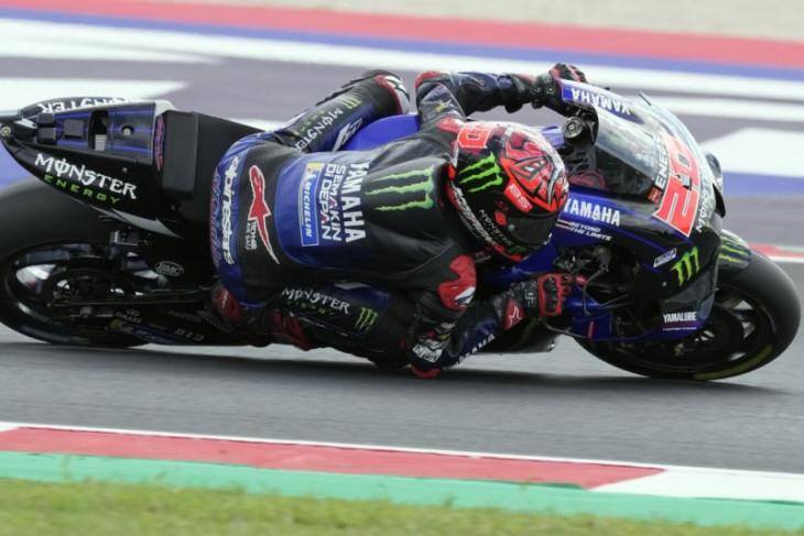 Quartararo berharap cuaca bersahabat ketika GP San Marino