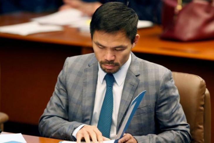Petinju Manny Pacquiao akan maju capres Filipina