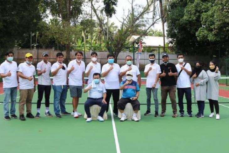 Gubernur Jambi minta Pelindo ikut bina atlet tenis Jambi
