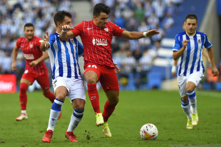 Liga Spanyol: Sevilla jegal ambisi Sociedad ke puncak klasemen