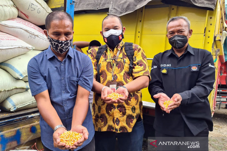 Ministry provides 1,000 tons of corn feed to farmers
