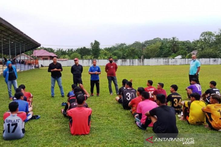 PSSI Aceh Barat pastikan pemain Pra PORA sudah divaksin COVID-19