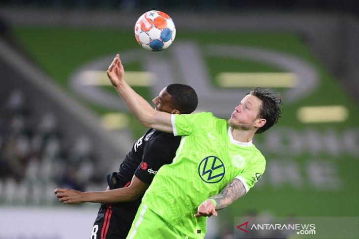 Frankfurt jadi tim pertama meraih poin dari Wolfsburg musim ini