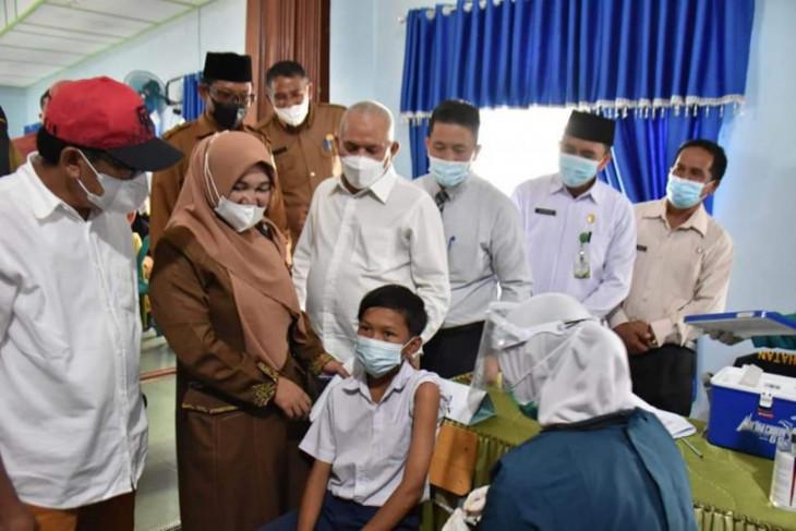 Vaksinasi di sekolah cegah klaster baru kata Sekda