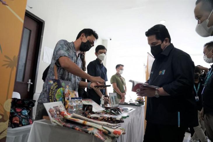Erick Thohir semangati pengusaha lokal Bali bersiap diri usai COVID-19 turun