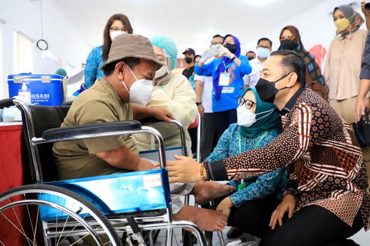 Wali Kota Eri bersyukur Kota Surabaya masuk level 1