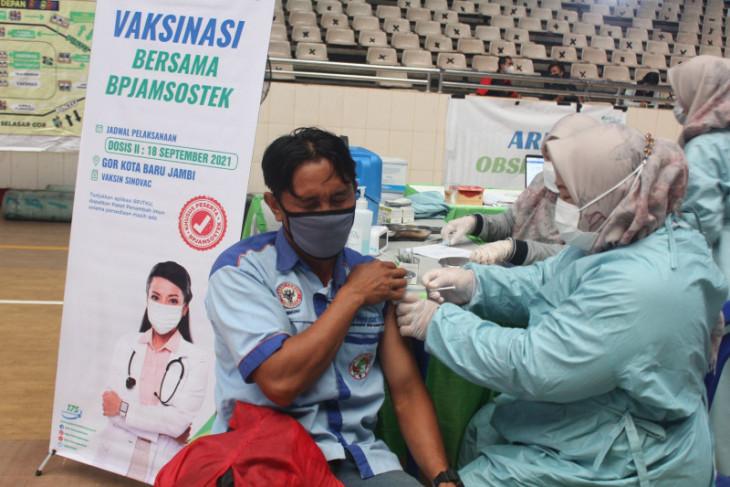BPJAMSOSTEK Jambi gelar vaksinasi massal pemberian dosis kedua
