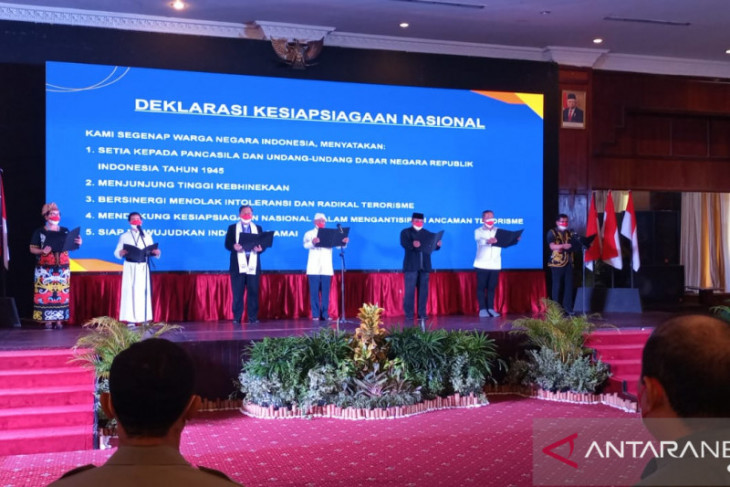 Kepala BNPT inisiasi deklarasi penanggulangan terorisme di Kota Balikpapan