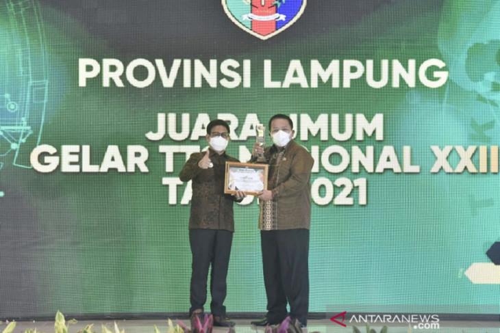 Lampung gondol juara umum Gelar Teknologi Tepat Guna Nasional XXII
