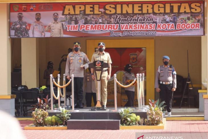 Pemkot, TNI, dan Polresta Bogor bersinergi bentuk Tim Pemburu Vaksinasi