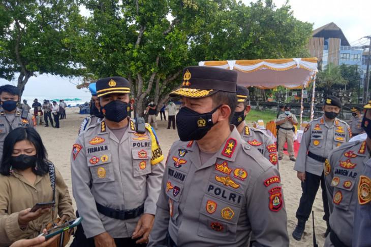 Polda Bali libatkan satpam awasi penerapan aplikasi PeduliLindungi di DTW