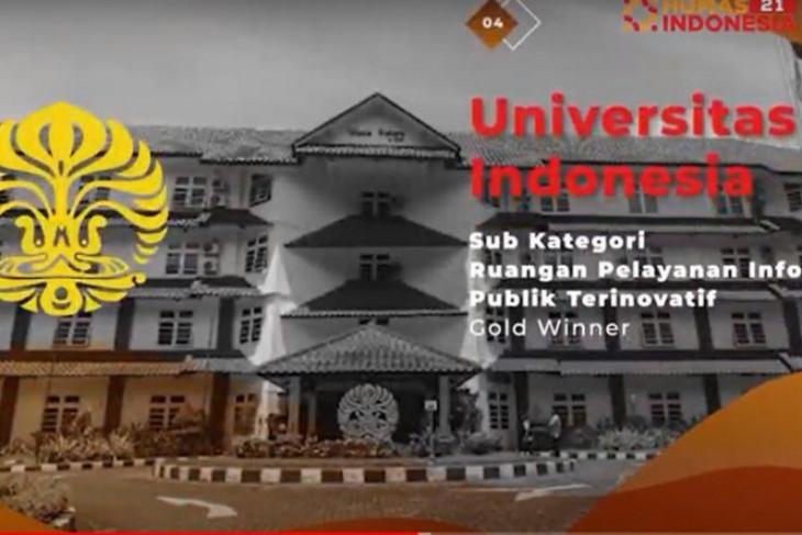 UI raih penghargaan ajang Anugerah Humas Indonesia bidang pelayanan informasi publik