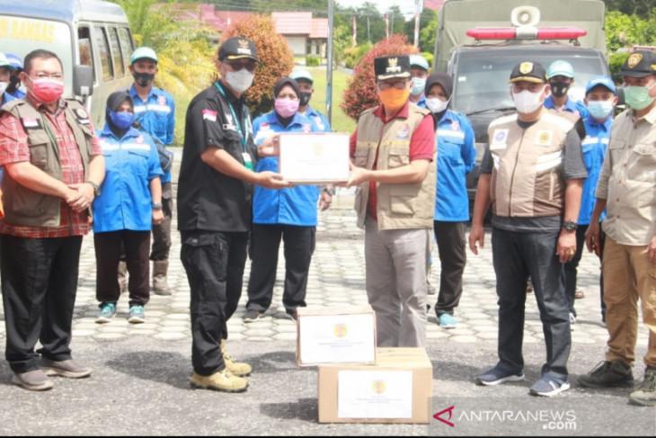 Wabup HST antar langsung bantuan logistik ke Kalteng untuk korban banjir