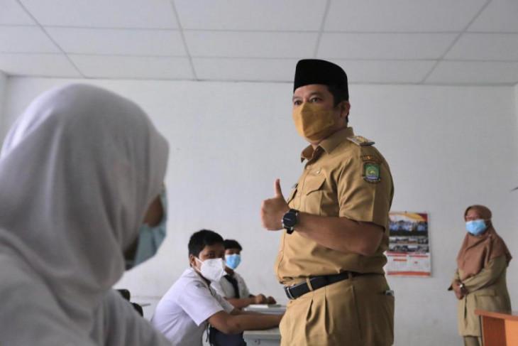 100 SMP di Kota Tangerang telah gelar uji coba PTM
