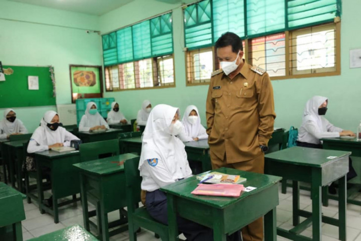 Delapan SMP di Kota Madiun gelar pembelajaran tatap muka terbatas