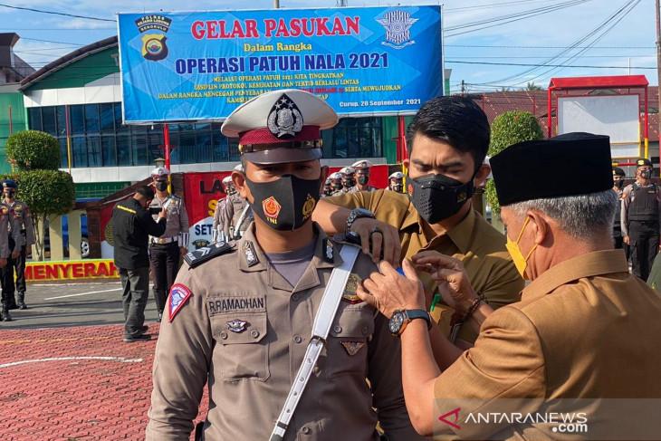 Polres Rejang Lebong: Operasi Patuh Nala sasar pelanggaran prokes
