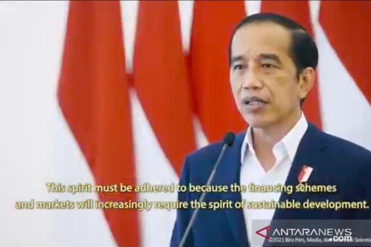 Presiden Jokowi bentuk Tim Gernas BBI