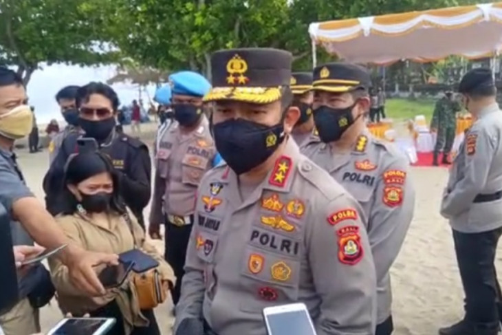 Kapolda Bali: Uji coba ganjil genap berlaku di Sanur-Kuta