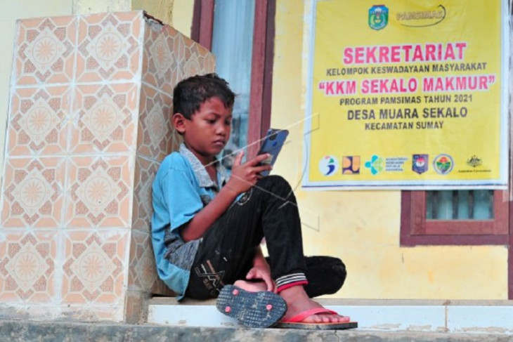 Akses internet gratis di kantor desa