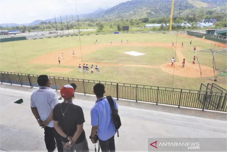 Panitia PON Papua pastikan arena sofbol dan bisbol siap digunakan