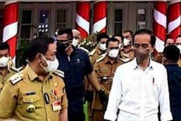 Bertemu Presiden, Bupati Eddy Berutu undang Jokowi kunjungi Dairi