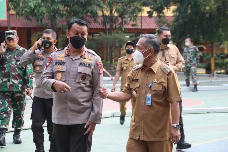 Kapolda Banten cek pengamanan lokasi kunjungan Joko Widodo di Serang