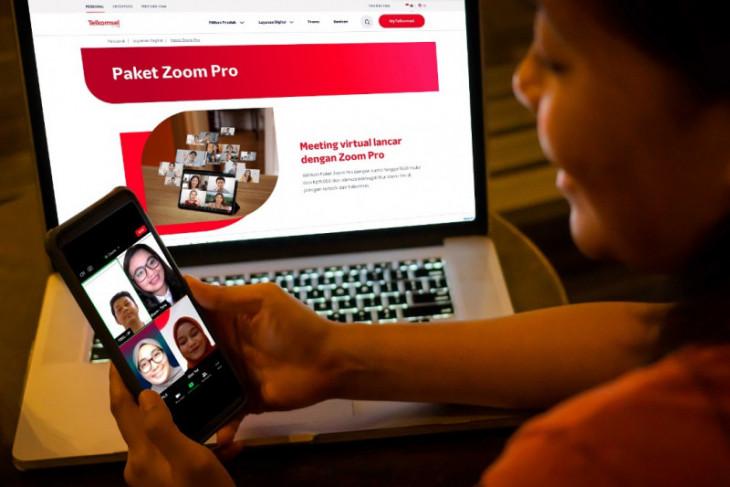 Telkomsel kolaborasi dengan Zoom hadirkan paket virtual terjangkau