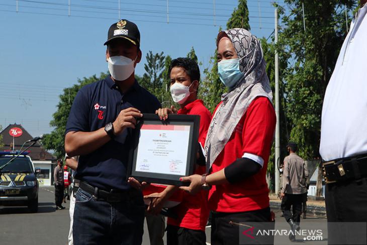 Bupati Batang apresiasi tugas kemanusiaan PMI yang tidak pernah berakhir