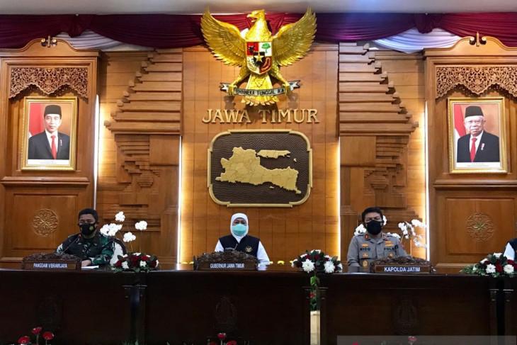 Sebanyak 19 kabupaten/kota di Jatim masuk level 1 asesmen Kemenkes
