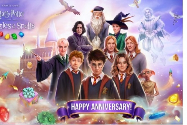Zynga's magical Match-3 mobile game, Harry Potter: Puzzles & Spells, celebrates one-year anniversary