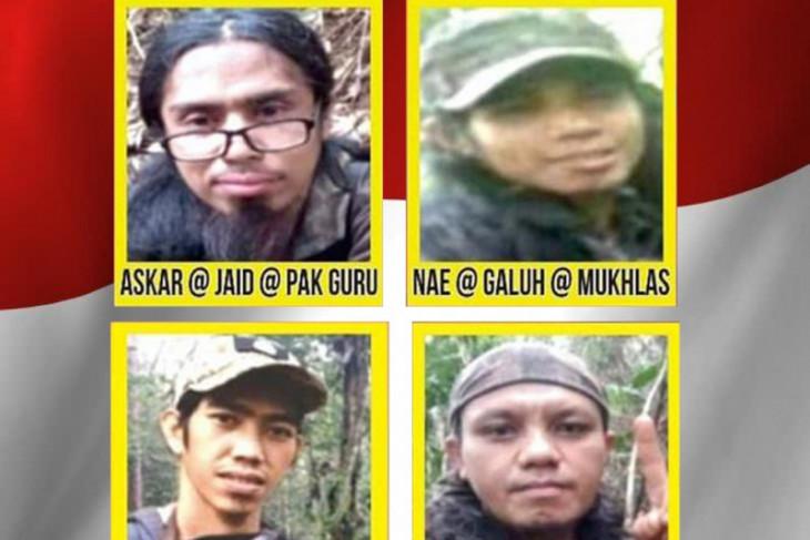 Empat Mujahidin Poso terus diburu