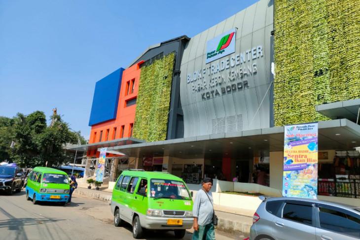 Pasar  tradisional di Kota Bogor masih sepi