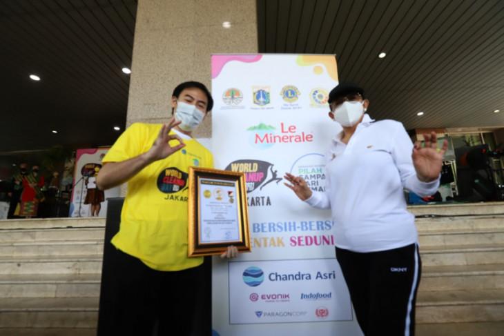 World Cleanup Day 2021 raih penghargaan ORI