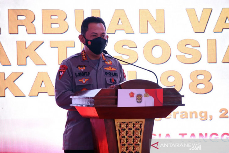 Target of 2 mln daily vaccinations can be achieved: Prabowo