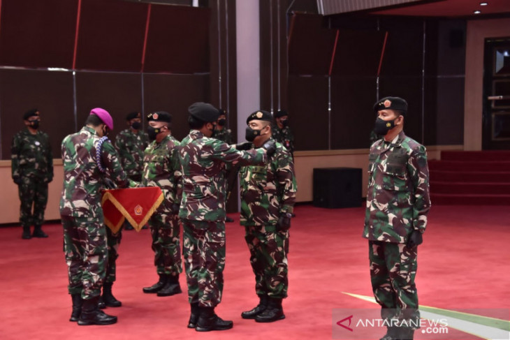 Panglima TNI pimpin upacara sertijab Dankodiklat, Aster, Kapuskes dan Kasetum