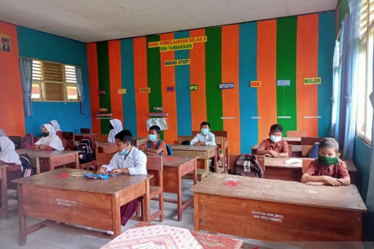 Ratusan sekolah di Kabupaten Serang laksanakan PTM terbatas