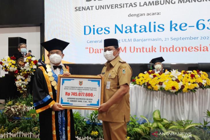 63 guru besar sokong kemajuan ULM di usia 63 tahun