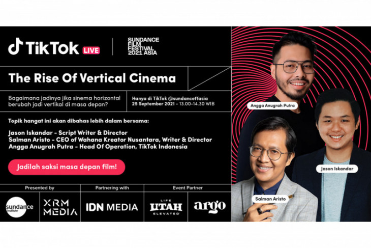 TikTok kolaborasi dengan Sundance Film Festival bahas industri film Indonesia