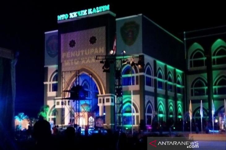 Kondisi atap Masjid Agung Al Ikhlas Kabupaten Penajam perlu penanganan