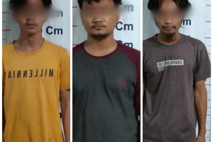 Polsek Pangkalan Brandan tangkap tiga pemilik sabu-sabu