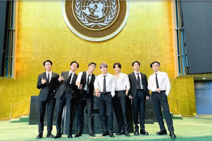 Pesan BTS saat berpidato di PBB bukan sekadar sensasi Kpop