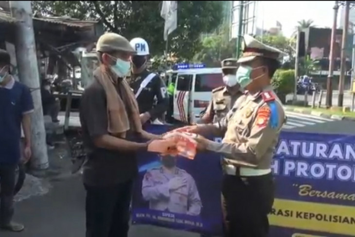 Polisi ingatkan protokol kesehatan dalam Operasi Patuh Jaya