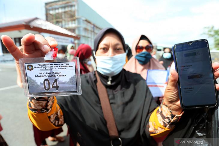 Uji Coba Pembukaan Kawasan Makam Soekarno