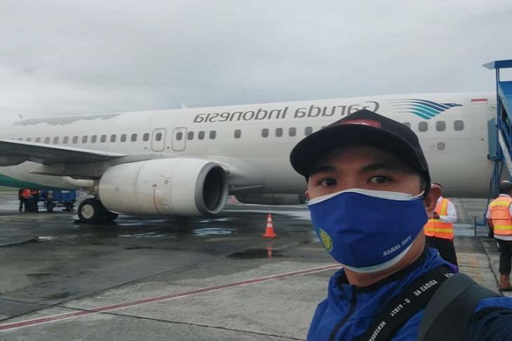 Ageng,  peliput PON asal Jabar fokus adaptasi cuaca di Timika