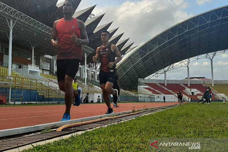 Atlet Aceh memulai karantina jelang ke Papua