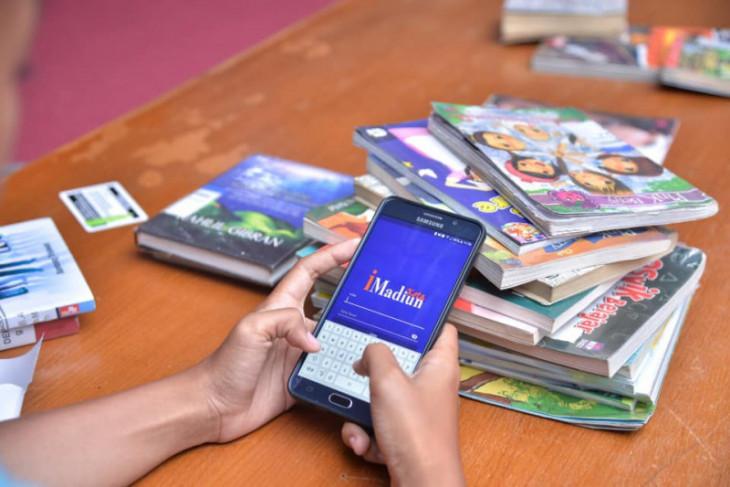 Perpustakaan Madiun catat kenaikan peminjaman buku digital selama pandemi