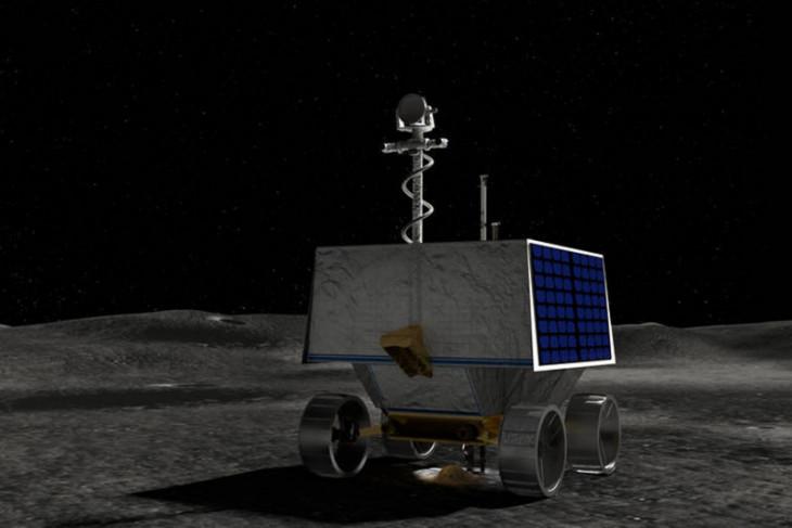NASA akan daratkan robot penjelajah es di Kutub Selatan Bulan