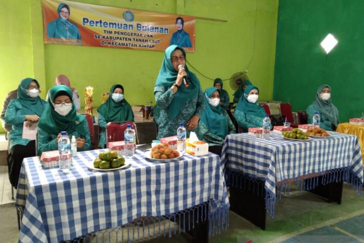 TP-PKK Tanah Laut gelar pembuatan eco enzym